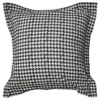 Rizzy Home Houndstooth 140 Thread Count Euro Sham