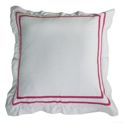 Rizzy Home Blossoms and Blooms Euro Sham