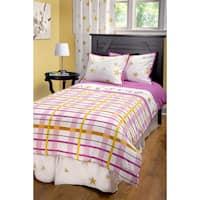 Rizzy Home Rachel Kate Girls Punk Animal Plaid 3-piece Comforter Set