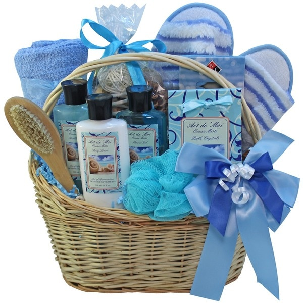 Shop Ocean Mists Spa Bath and Body Gift Basket Set - Free ...