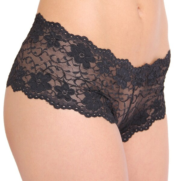 Prestige Biatta Summer Black Allover Lace Cheeky Underwear