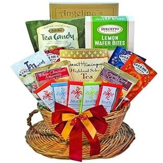 You're My Cup of Tea Gourmet Snacks Gift Basket - you're-my-cup-of-tea