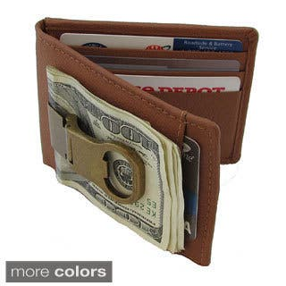 Continental Leather Bottle Opener Money Clip Front Pocket Wallet|https://ak1.ostkcdn.com/images/products/10277005/P17392984.jpg?impolicy=medium