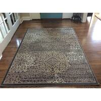 Porch & Den Pearl District Burnside Brown Area Rug - 3'3 x 4'11