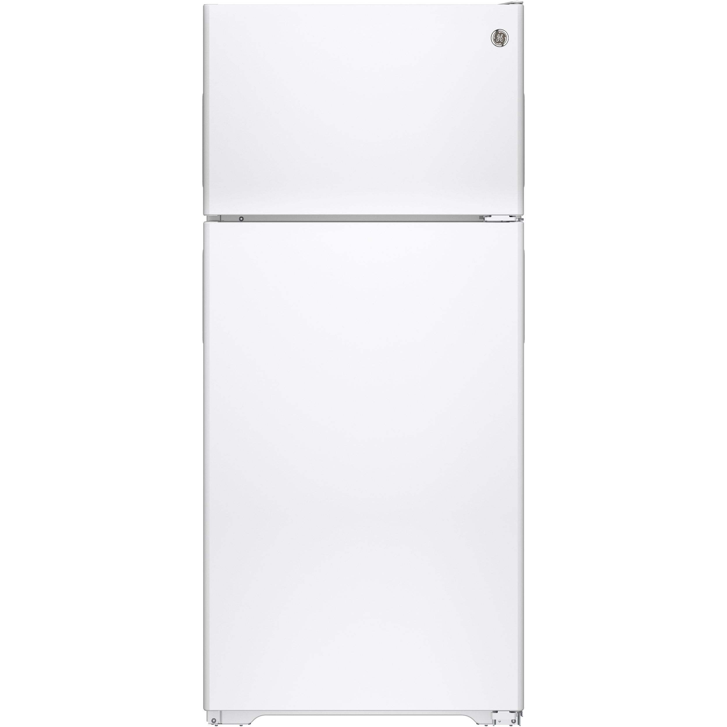 GE Energy Star 15.5 Cubic Feet Recessed Handle Top-freeze...