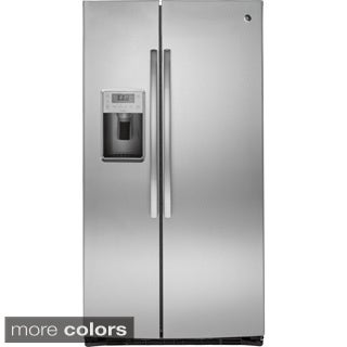 GE Profile Seres Energy Star 25.4 Cubic Feet Side-by-side Refrigerator