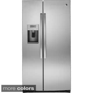 GE Profile Seres Energy Star 25.4 Cubic Feet Side-by-side Refrigerator|https://ak1.ostkcdn.com/images/products/10277117/P17393077.jpg?impolicy=medium