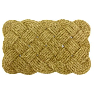 2-piece Celebration Jute Rope Doormat Set