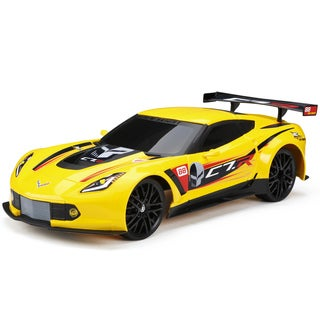 Bright 1:12 R/C Charger Series 2.4GHz Corvette C7R Charger with included USB Cord