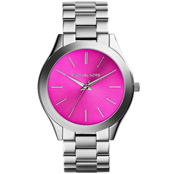 Michael Kors MK3291 Women's Slim Runway Stainless Steel Bracelet Watch