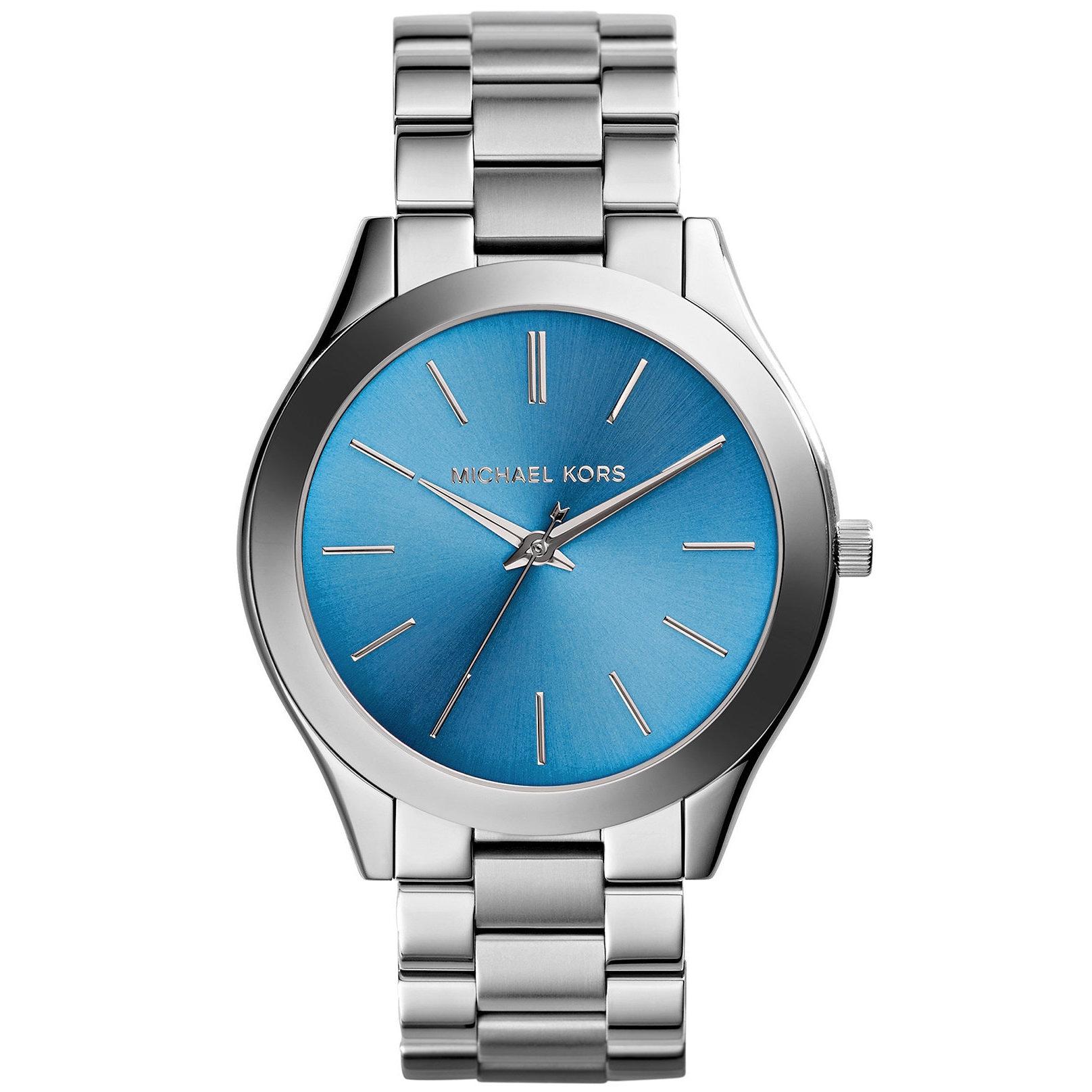 Michael Kors  Womens Slim Runway Stainless Steel Bracelet Watch Womens Slim Runway Stainless Steel Bracelet Watch
