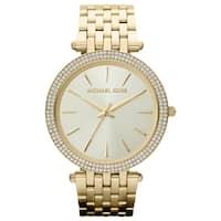 Michael Kors MK3191 Women's Darci Gold-Tone Stainless Steel Bracelet Watch
