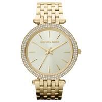 Michael Kors  Women's Darci Gold-Tone Stainless Steel Bracelet Watch