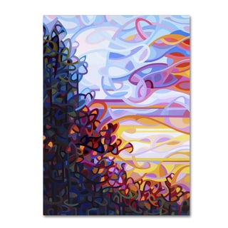 Mandy Budan 'Crescendo' Gallery Wrapped Canvas Art