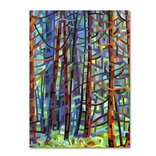 Mandy Budan 'In A Pine Forest' Gallery Wrapped Canvas Art