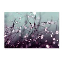 Beata Czyzowska Young 'Over the Rainbow' Gallery Wrapped Canvas Wall Art