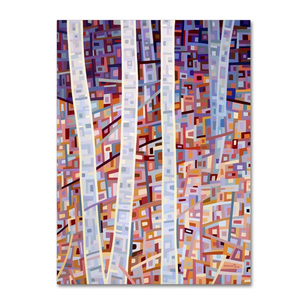 Mandy Budan 'Incandescence' Gallery Wrapped Canvas Art