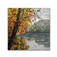 Mandy Budan 'Reflections' Gallery Wrapped Canvas Art - Multi