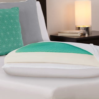 Comfort Memories Gel Memory Foam Bed Pillow