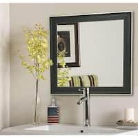 American Made Rayne Vintage Black Mirror - Black/Silver