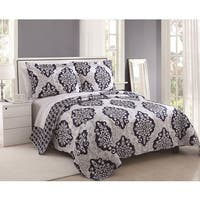 Juliet Reversible Medallion 3-piece Quilt Set