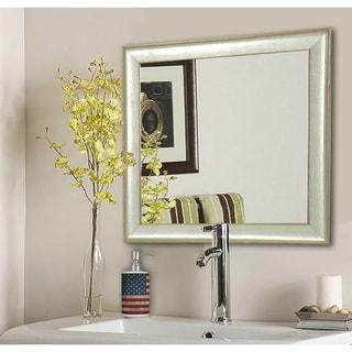 American Made Rayne Vintage Silver Vanity Wall Mirror