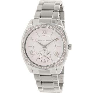 Michael Kors Women's MK6133 'Bryn' Crystal Stainless Steel Watch