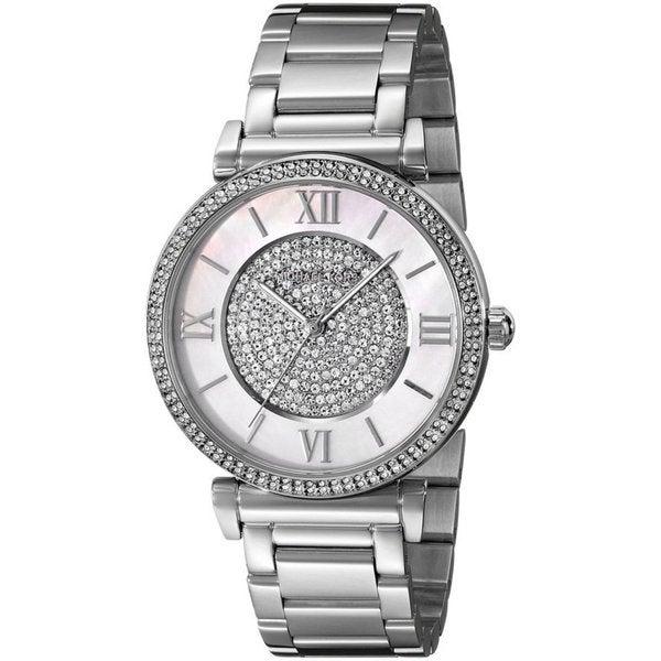 Michael Kors Women's MK3355 'Catlin' Crystal Stainless Steel Watch