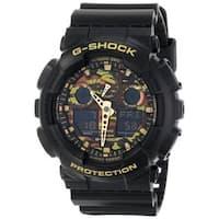 Casio  G-Shock Men's Camouflage Watch w/ Black Resin Band