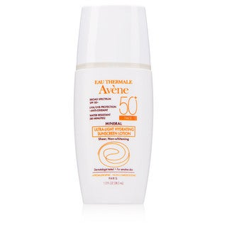 Avene Mineral Ultra-Light Hydrating 1.3-ounce Sunscreen Lotion SPF 50+ Face