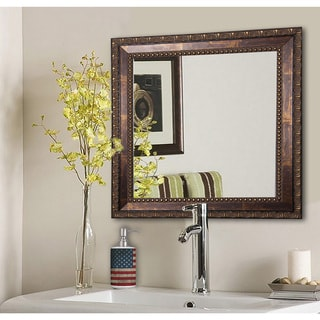 American Made Rayne Roman Copper Bronze Wall/ Vanity Mirror