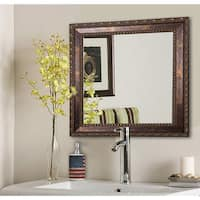 American Made Rayne Roman Copper Bronze Wall/ Vanity Mirror