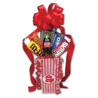 Popcorn Pack Snack Gift Basket