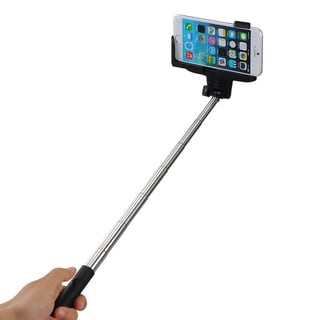 Bluetooth Camera Remote Control Shutter Extendable Handheld Monopod Extendable Selfie Stick