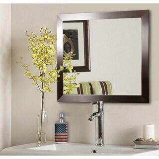 American Made Rayne Silver Petite Wall/ Vanity Mirror