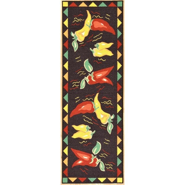 Ottomanson Hot Peppers Runner Rug 20 Quot X 59 Quot Free