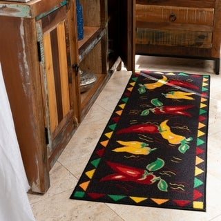 "Ottomanson Hot Peppers Runner Rug (20"" x 59"")"