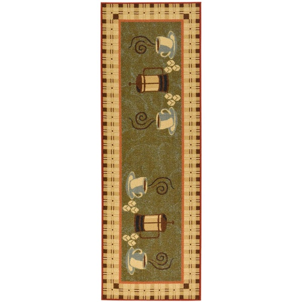 Ottomanson Coffee Cups Runner Rug 20 Quot X 59 Quot Free