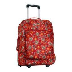 Hadaki by Kalencom Plane Hopping 18-inch Primavera Floral Carry On Upright Suitcase