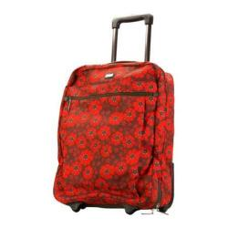 Hadaki by Kalencom Plane Hopping 18-inch Primavera Lacey Carry On Upright Suitcase