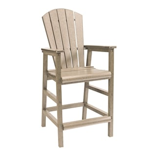 Generations Beige Dining Adirondack Style Pub Arm Chair