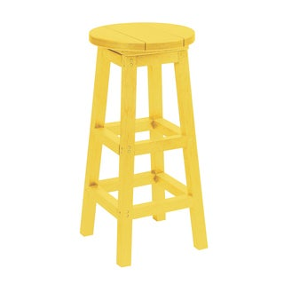 Generations Yellow Dining Adirondack Style Pub Bar Stool