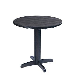 Generations Black 37-inch Round Pub Height Pedestal Table|https://ak1.ostkcdn.com/images/products/10279519/P17395082.jpg?impolicy=medium