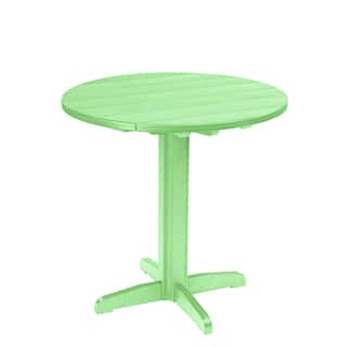 Generations Round Green 37-inch Pub Height Pedestal Table|https://ak1.ostkcdn.com/images/products/10279520/P17395083.jpg?impolicy=medium