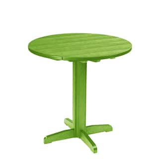 Generations Green 37-inch Round Pub Height Pedestal Table|https://ak1.ostkcdn.com/images/products/10279522/P17395085.jpg?impolicy=medium