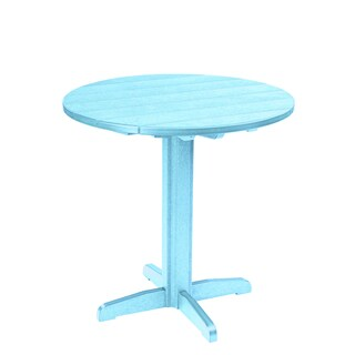 Generations Round Blue Pub Height Pedestal Table|https://ak1.ostkcdn.com/images/products/10279536/P17395093.jpg?_ostk_perf_=percv&impolicy=medium