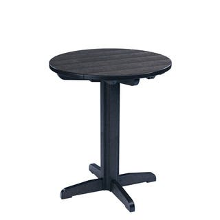 Generations Black 32-inch Round Pub Height Pedestal Table|https://ak1.ostkcdn.com/images/products/10279543/P17395099.jpg?impolicy=medium