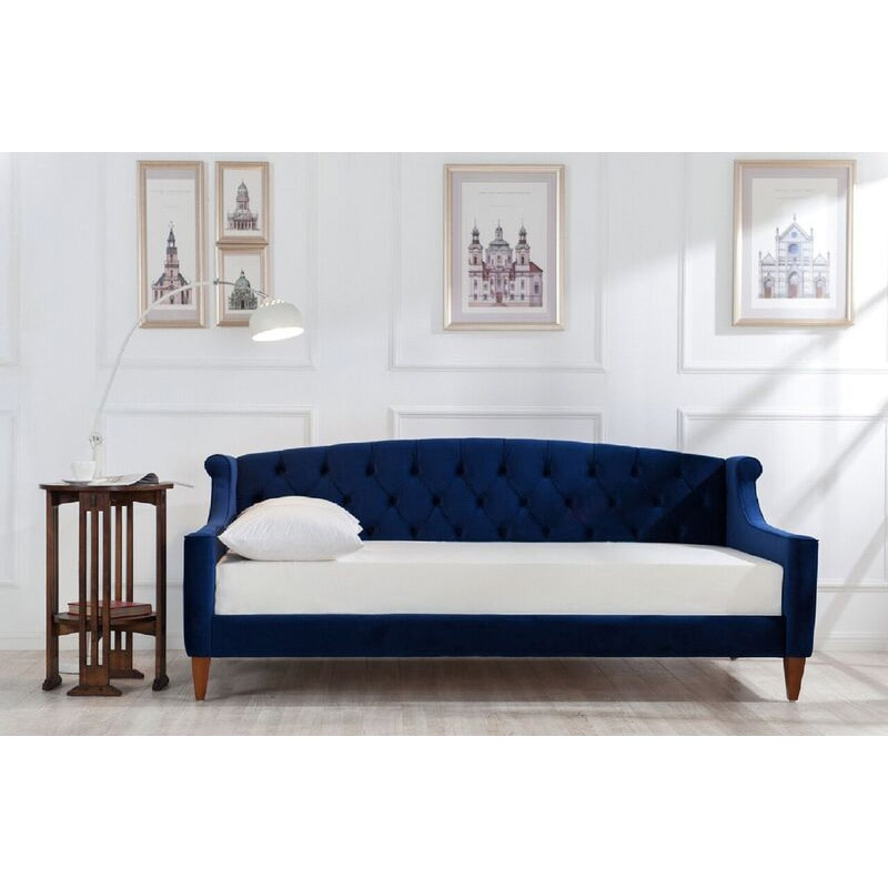Shop Jennifer Taylor Lucy Upholstered Sofa Bed Free
