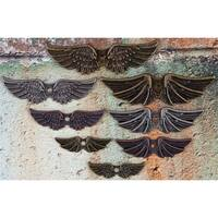 Mechanicals Metal Embellishments Winged