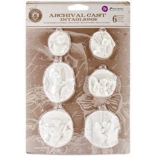 Relic & Artifacts Archival Cast Embellishments Intaglios